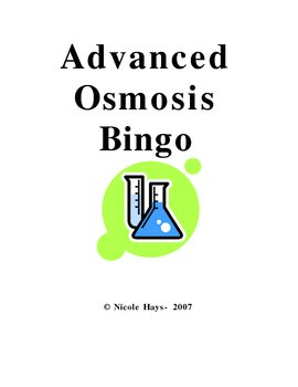 Advanced Osmosis Bingo
