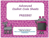 Advanced Ozobot Code Sheets