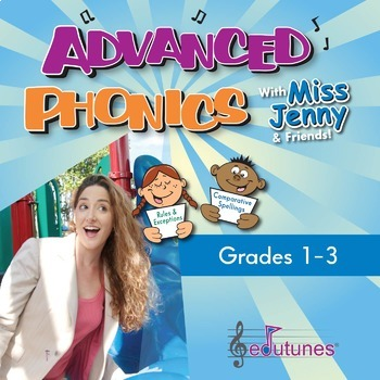 Advanced Phonics CD-Book Set: Downloadable Version