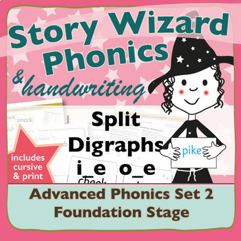 Advanced Phonics Set 2: Split Digraphs i_e and o_e
