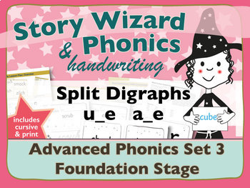 Advanced Phonics Set 3: Split Digraphs u_e and a_e