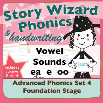 Advanced Phonics Set 4: Vowel Sounds EA E OO