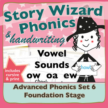 Advanced Phonics Set 6: Vowel Sounds OW OA EW