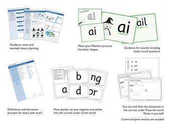 Advanced Phonics Set 9: Consonant Digraphs