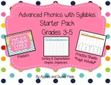 Advanced Phonics with Syllables Grades 3-5