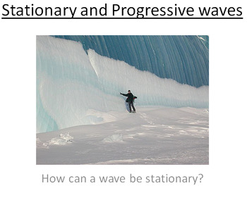 Advanced Physics Lesson - Stationary and Progressive Waves (Plan and PowerPoint)
