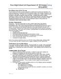 Advanced Placement 2D Design Syllabus