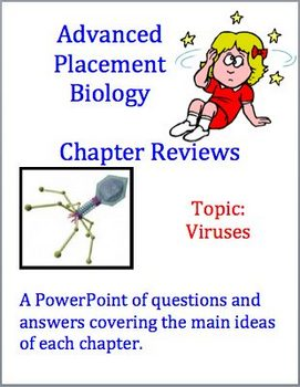 Advanced Placement (AP) Biology Review Powerpoint: Viruses