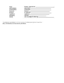 Advanced Placement (AP) : la identidad : activities