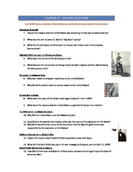 Advanced Placement U.S. History Bailey CH. 27 Study Guide