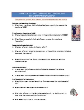 Advanced Placement U.S. History Bailey CH. 11 Study Guide Questions