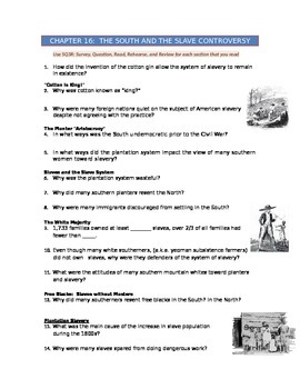 Advanced Placement U.S. History Bailey CH. 16 Study Guide
