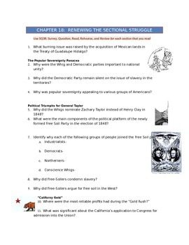 Advanced Placement U.S. History Bailey CH. 18 Study Guide Questions
