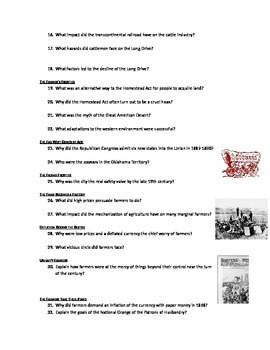 Advanced Placement U S  History Bailey CH  26 Study Guide Questions