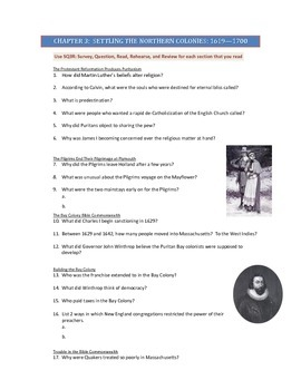 Advanced Placement U.S. History Bailey CH. 3 Study Guide Q