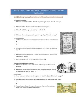 Advanced Placement U.S. History Bailey CH. 4 Study Guide Questions