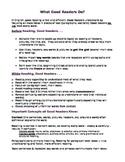 Advanced Reading Skills Review; main idea reading