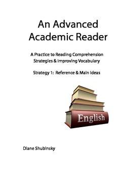 Advanced Reading Strategies & Vocabulary Practice: 1. Refe