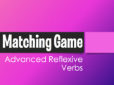 Spanish Advanced Reflexive Verb Matching Game