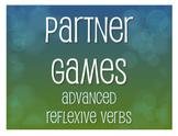 Spanish Advanced Reflexive Verb Partner Games