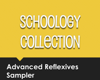 Spanish Advanced Reflexive Verb Schoology Collection Sampler