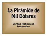 Spanish Advanced Reflexive Verb $1000 Pyramid Game