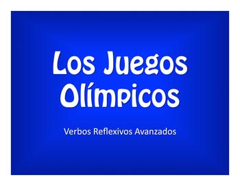 Spanish Advanced Reflexive Verb Olympics