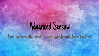 Advanced Seesaw CPD