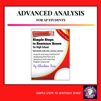 Advanced Sentence Analysis Unit from Simple Steps to Sentence Sense