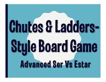 Advanced Ser Vs Estar Chutes and Ladders-Style Game