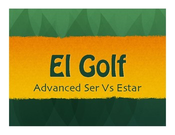 Advanced Ser Vs Estar Golf