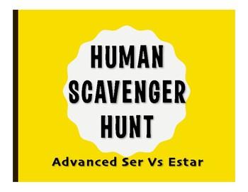 Advanced Ser Vs Estar Human Scavenger Hunt