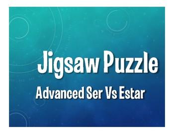 Advanced Ser Vs Estar Jigsaw Puzzle