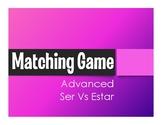 Advanced Ser Vs Estar Matching Game