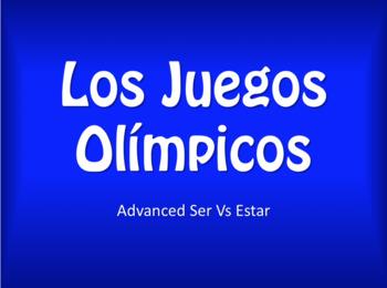 Advanced Ser Vs Estar Olympics