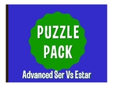 Advanced Ser Vs Estar Puzzle Pack
