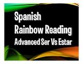 Advanced Ser Vs Estar Rainbow Reading