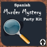 Spanish Murder Mystery Party Kit Activity Game Engaging Sp