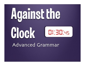 Advanced Spanish Grammar Against the Clock