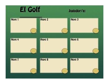 Advanced Spanish Grammar Golf