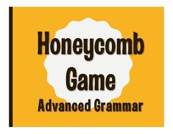Advanced Spanish Grammar Honeycomb Partner Game