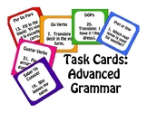 Advanced Spanish Grammar Task Cards