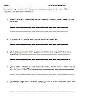 Advanced Spanish IV & V Interview questions pret imp & imperfecto del subjuntivo