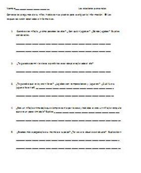 Advanced Spanish IV & V Interview questions pret imp & imp