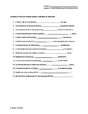 Advanced Spanish Medical Unit Imperfect Subjunctive Fill-in