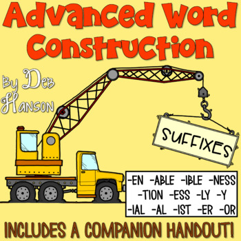 Advanced Suffixes PowerPoint... reviewing 6 basic suffixes and introducing 13 additional suffixes!
