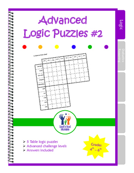 Advanced Table Logic Puzzles #2