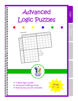 Advanced Table Logic Puzzles