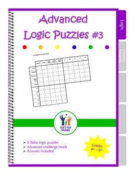 Advanced Table Logic Puzzles #3