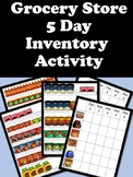 Advanced Taking Inventory -5 Day Activity with Questions